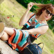 Appena. Denim floreale e abiti colorati per le sere d'estate, alessia milanese, thechilicool, fashion blog, fashion blogger