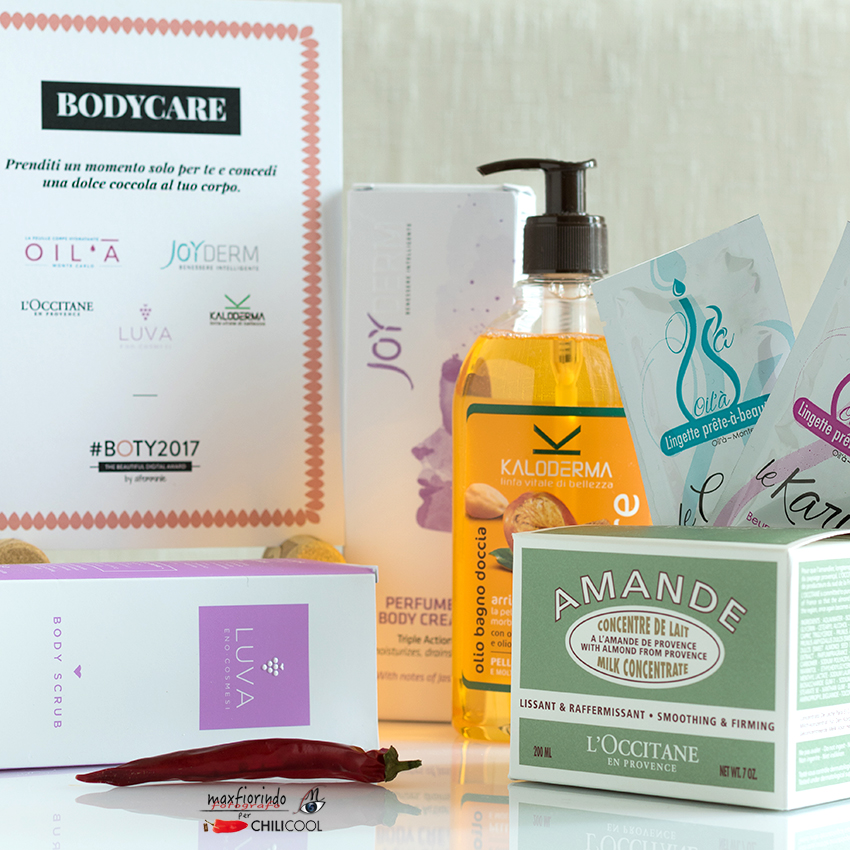 #Boty2017 by Alfemminile: categoria #bodycare, alessia milanese, thechilicool, beauty blog, beauty blogger