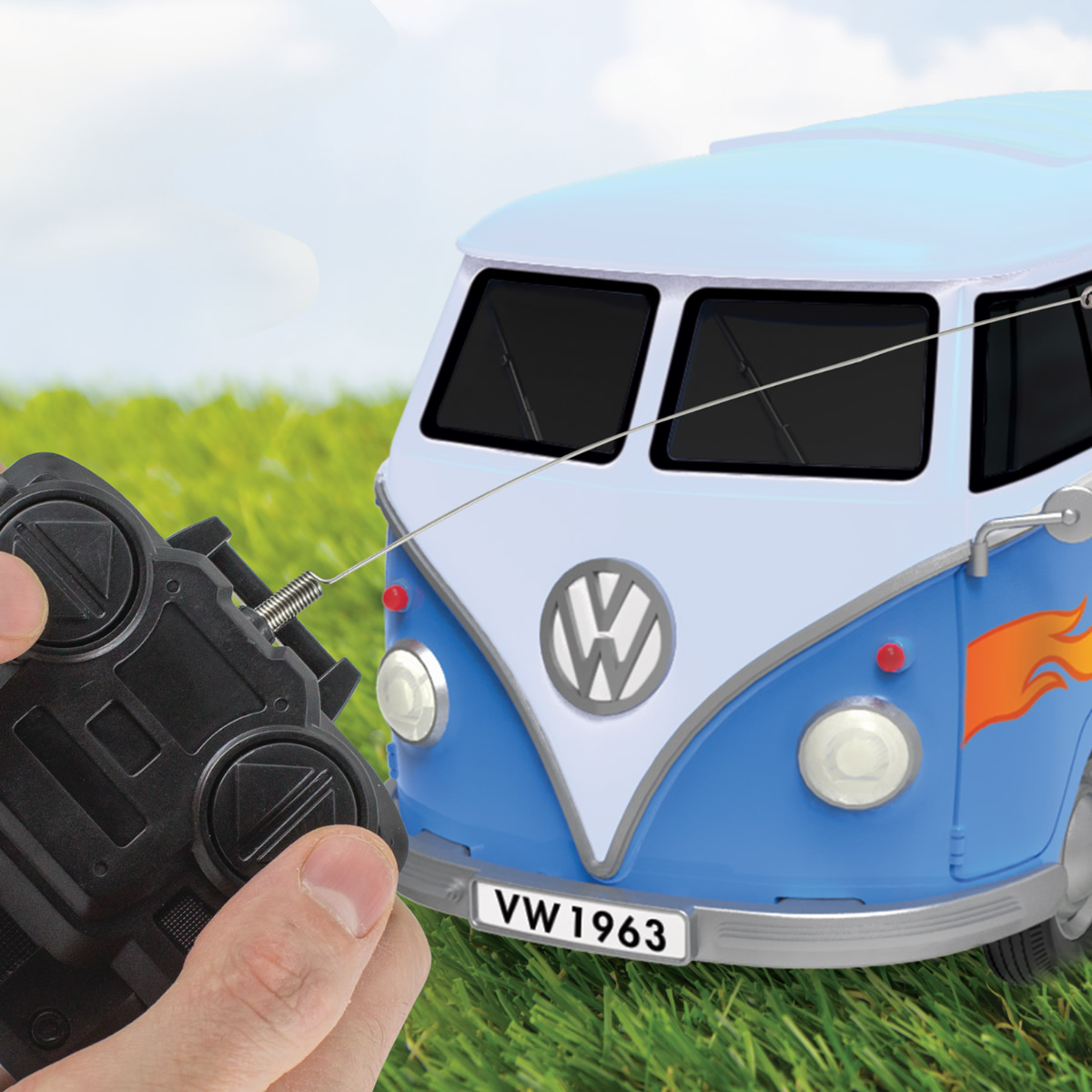 Campo Volkswagen radiocomandato