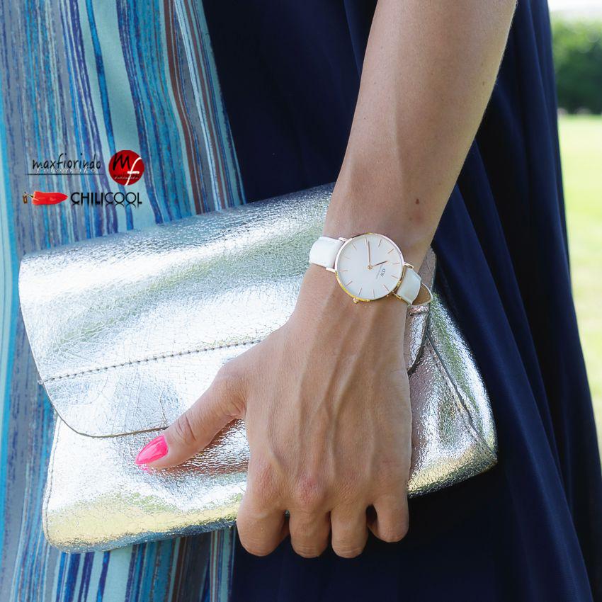 Penombra, raggi di sole ed un abito blu, alessia milanese, thechilicool, fashion blog, fashion blogger