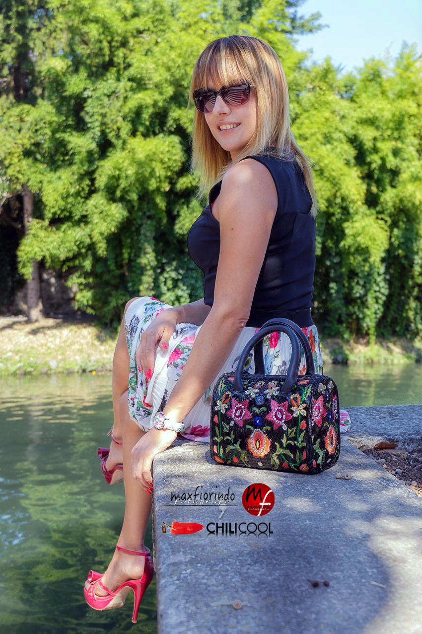 Storie di acqua, onde e geometrie di fiori, alessia milanese, thechilicool, fashion blog, fashion blogger