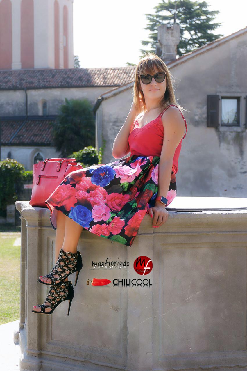 Rosso, ed il profumo del mattino, alessia milanese, thechilicool, fashion blog, fashion blogger