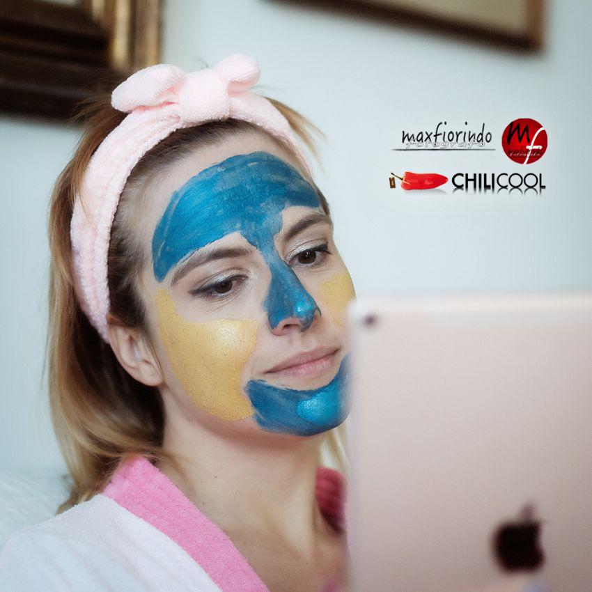 Maschere viso argilla pura: la mia recensione, alessia milanese, thechilicool, beauty blog, beauty blogger , l'oreal paris, al femminile