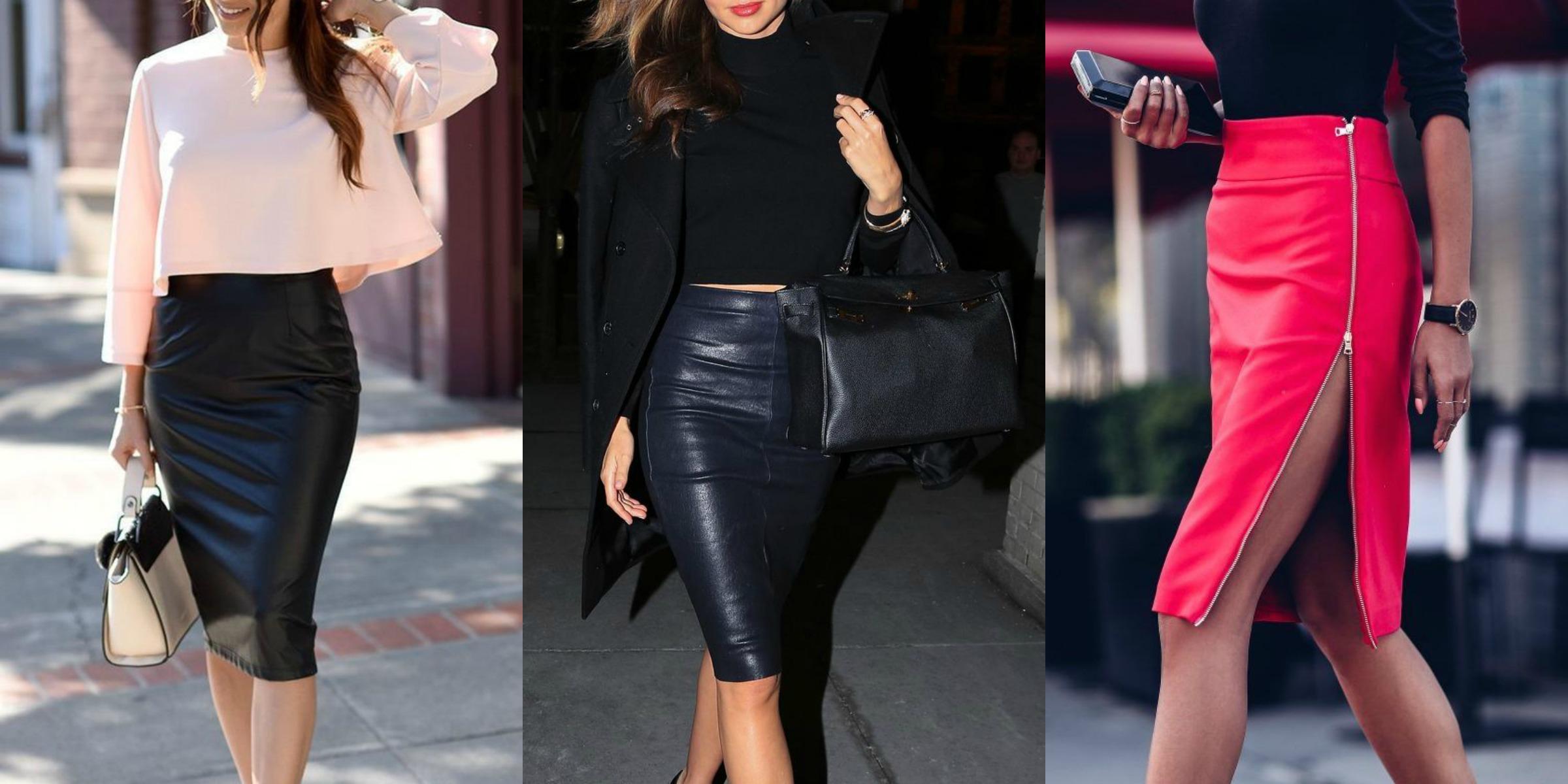 Come abbinare la gonna di pelle: 8 consigli di stile