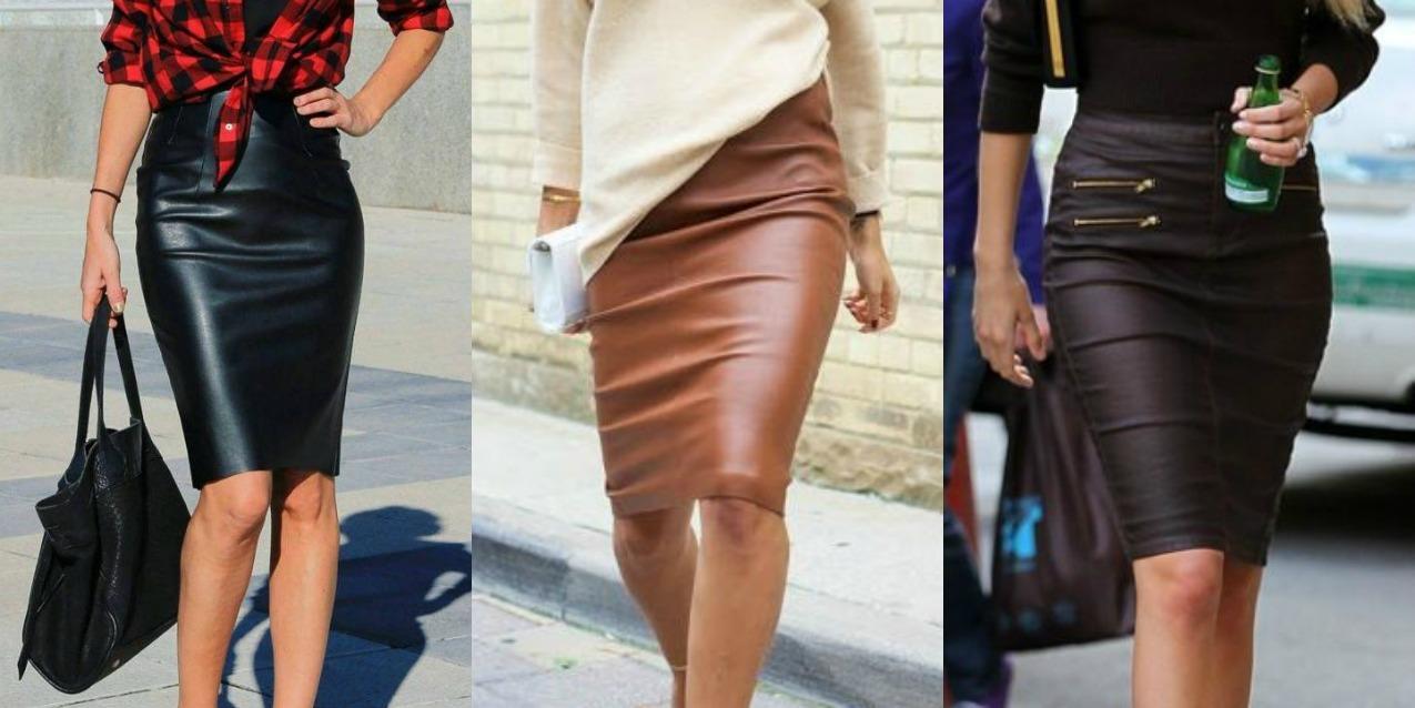 selezione migliore fadaf b9b9c Come abbinare la gonna di pelle: 8 consigli di stile ...