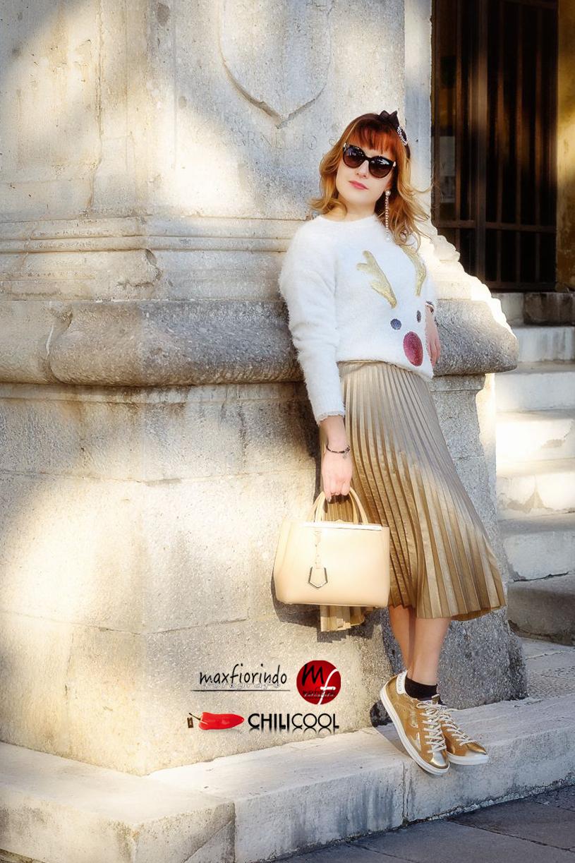 Sfumature d'oro nel cielo d'inverno, alessia milanese, thechilicool, fashion blog, fashion blogger