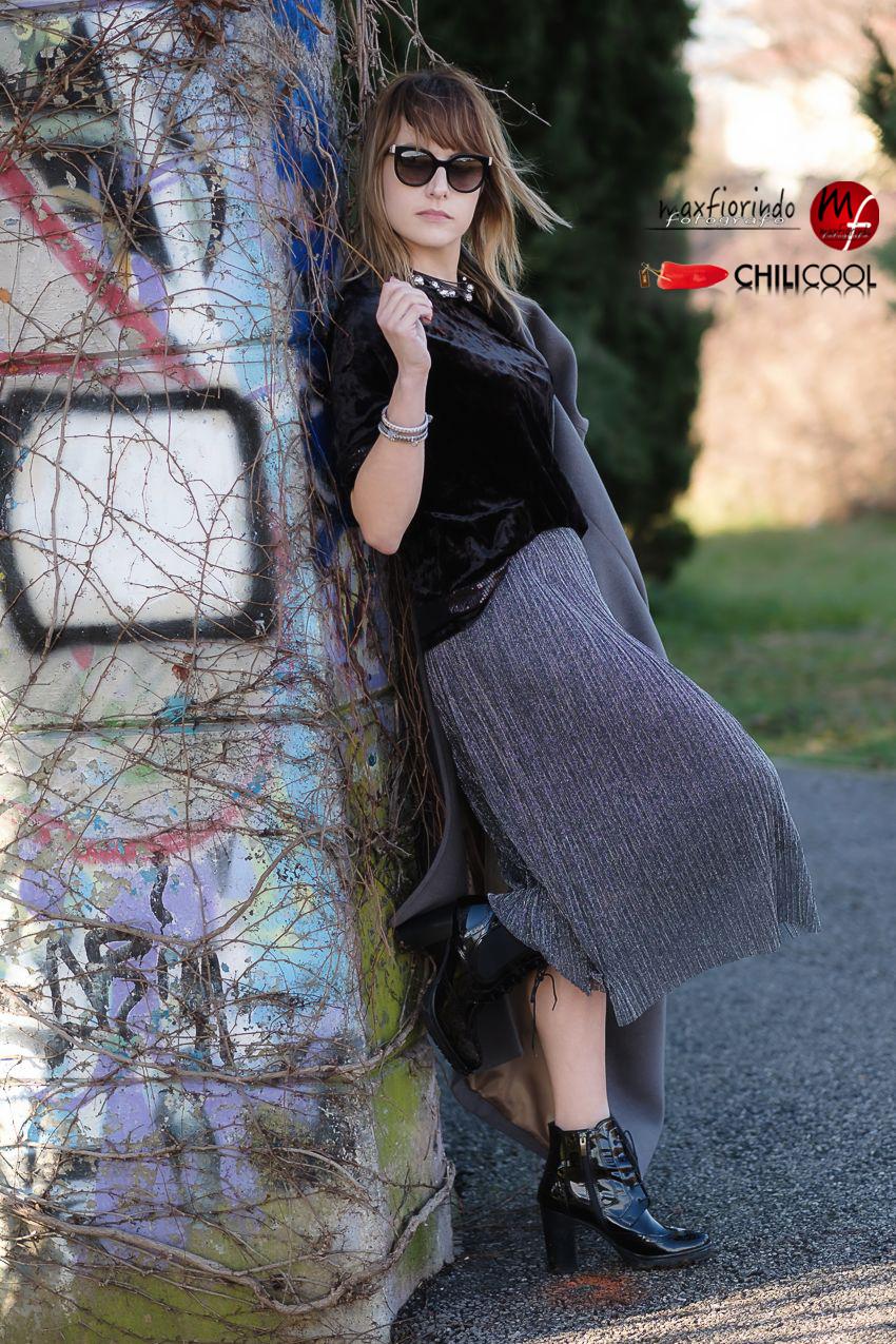 #ChiliOutfit: di velluto e trame d'argento nel sole del mattino, alessia milanese, thechilicool, fashion blog, fashion blogger, amazon moda