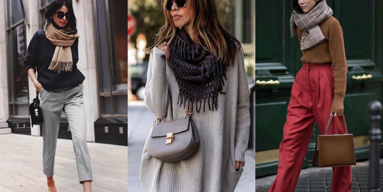 #ChiliFashion: dieci modi per indossare la sciarpa con stile e comodità, alessia milanese, thechilicool, fashion blog, fashion blogger , chili guide