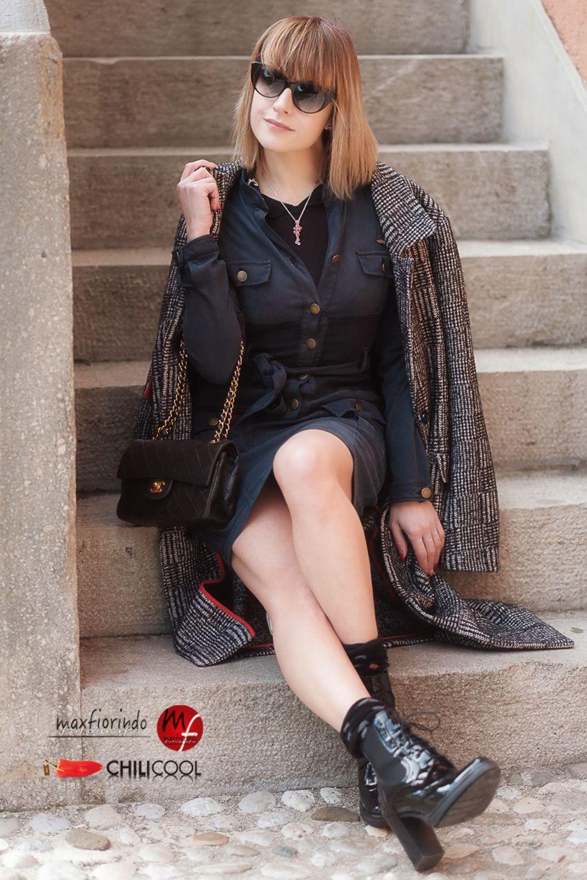 #ChiliOutfit: nel cielo azzurro d'inverno, alessia milanese, thechilicool, fashion blog, fashion blogger