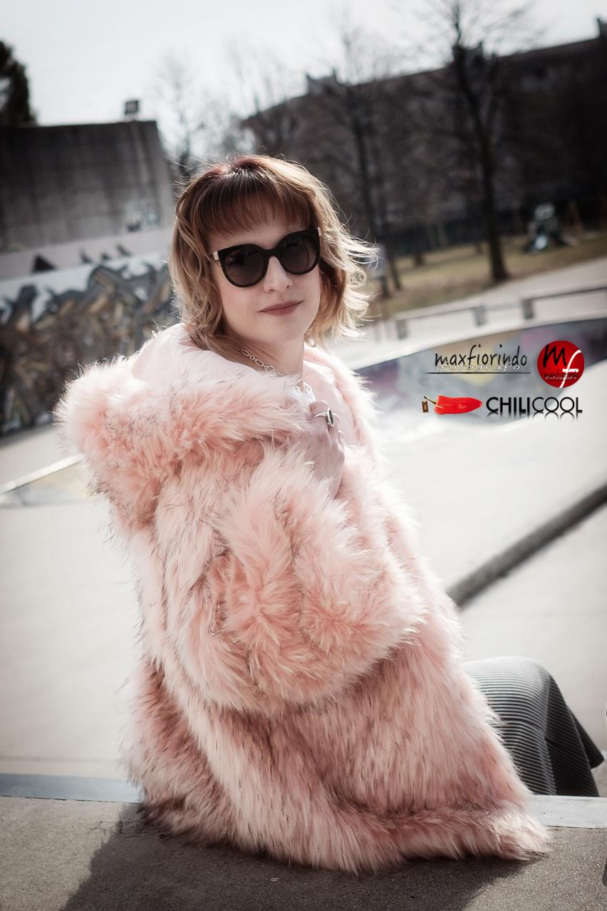 #ChiliOutfit:di rosa, e del cielo d'inverno, alessia milanese, thechilicool, fashion blog, fashion blogger