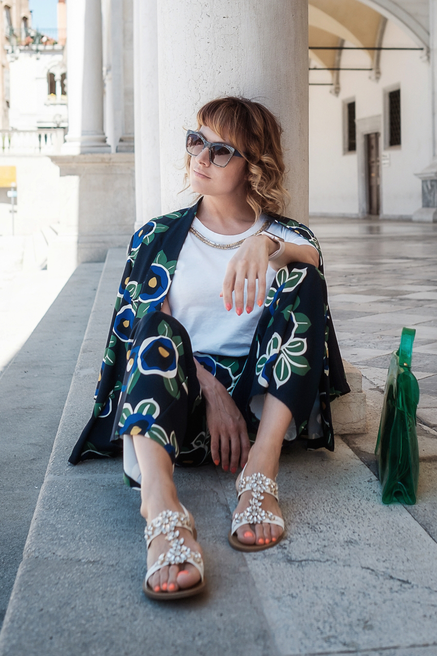 #ChiliOutfit: come indossare il floreale d'estate, alessia milanese, thechilicool, fashion blog, fashion blogger