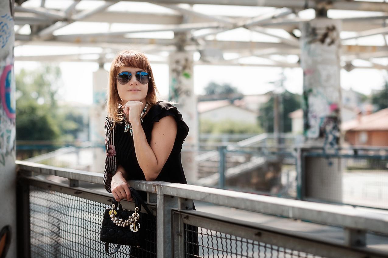 Occhiali da sole unici e di tendenza con Ottica Sm, alessia milanese, thechilicool, fashion blog, fashion blogger , rayban aviator