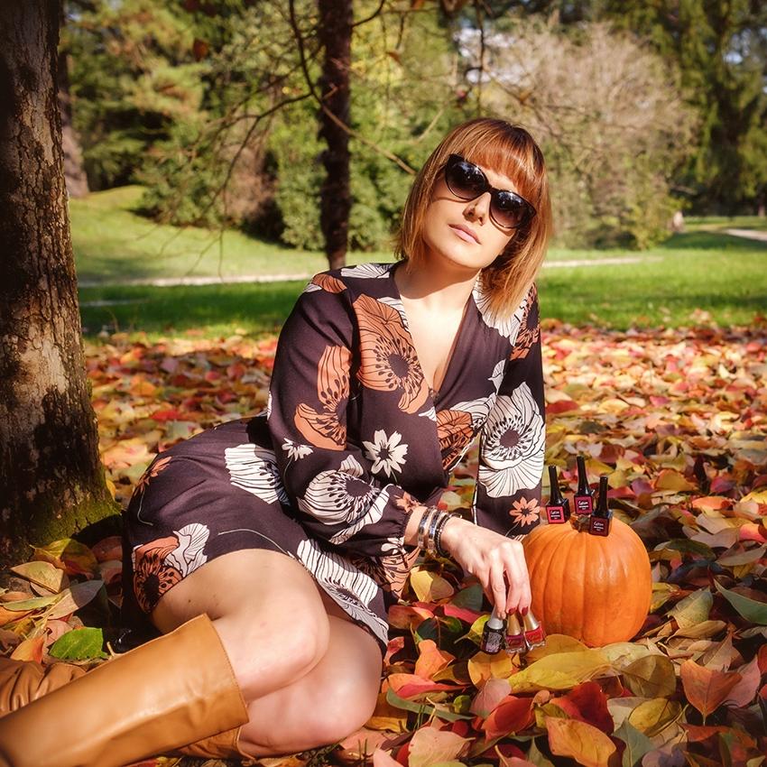Estrosa: colori d'autunno sulle mie unghie, alessia milanese, thechilicool, fashion blog, fashion blogger